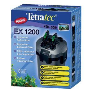 FILTRATION - POMPE Tetra Filtre Extérieur Ex1200 Plus 1200 L/h