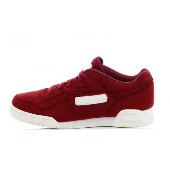Basket Reebok Workout Plus - Ref. V62790 Rouge Rouge - Achat / Vente basket