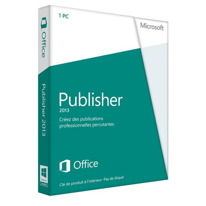 Publisher 2013 discount