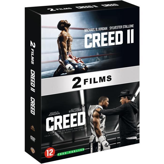 DVD FILM Coffret DVD Creed : Creed / Creed II
