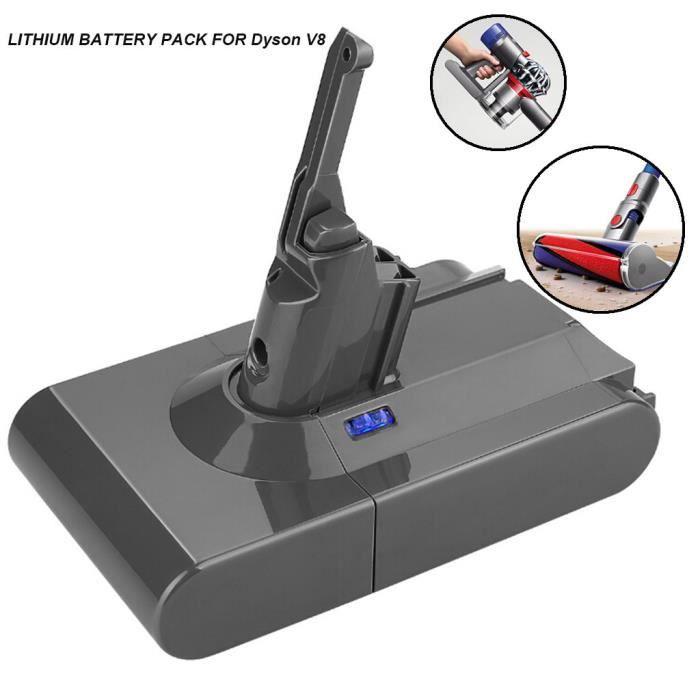 4000mAh 21.6V Batterie pour Dyson V8 Batterie Absolute V8 Aspirateur animaux