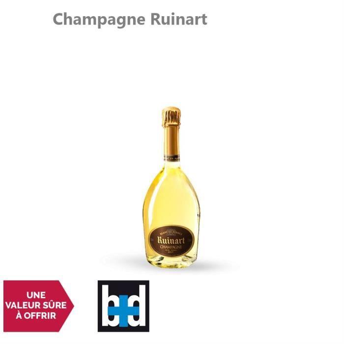 Champagne Blanc de Blancs Blanc - 75cl - Champagne Ruinart - 15-20 La Revue du Vin de France - Cépage Chardonnay