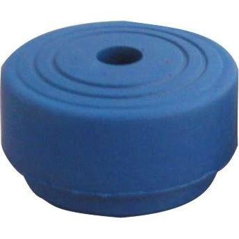 Butée de porte design en caoutchouc bleu Ø 45 mm,