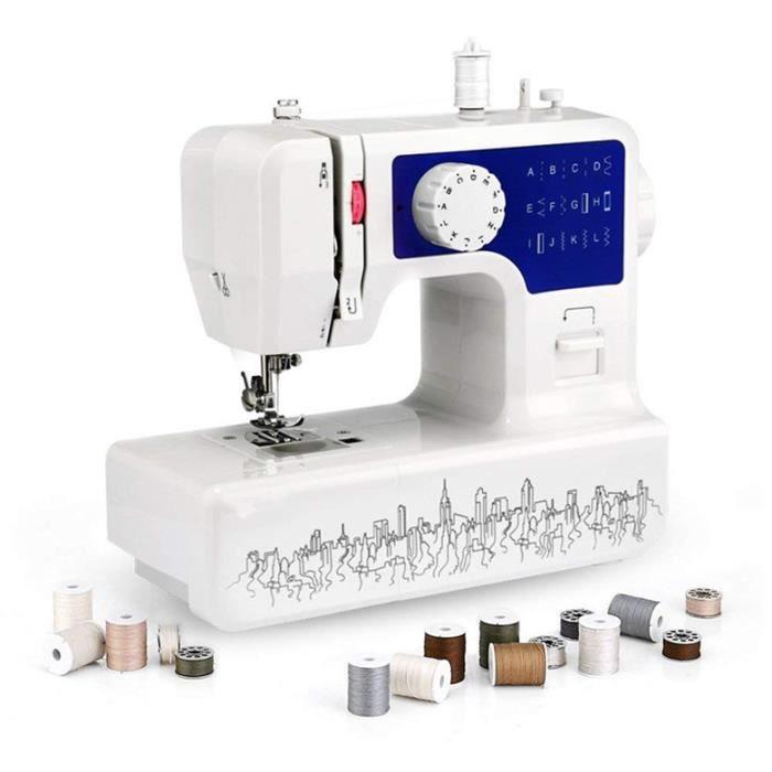Machine à coudre de tissu électrique Mini Machine à coudre de tissu électrique multifonction pour la maison