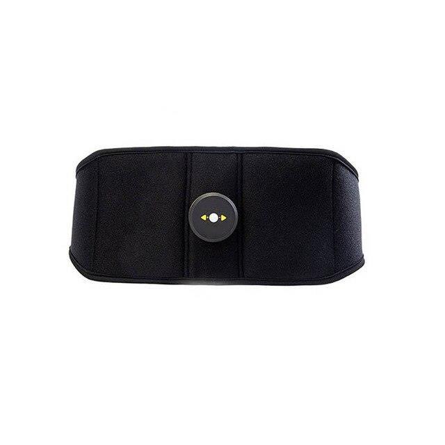 Entraîneur Abdominal Vibration électrique stimulateur musculaire sans fil corps minceur ceinture Fit - Modèle: Jaune -