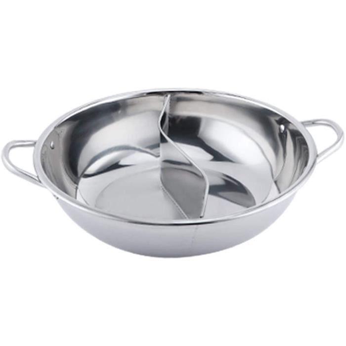 CASSEROLE KUYG Hot Pot Inox Extra Petit Casserole 2 Poigneacutees Cuisine Ustensiles de Cuisine286