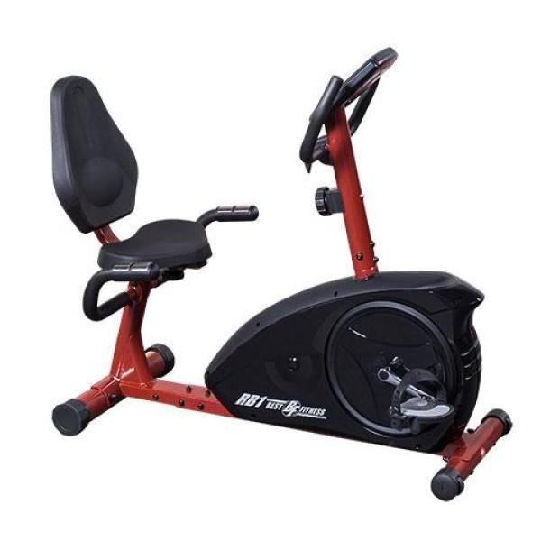 Best Fitness BFRB1 - Vélo d'appartement Semi Couché - Allongé -
