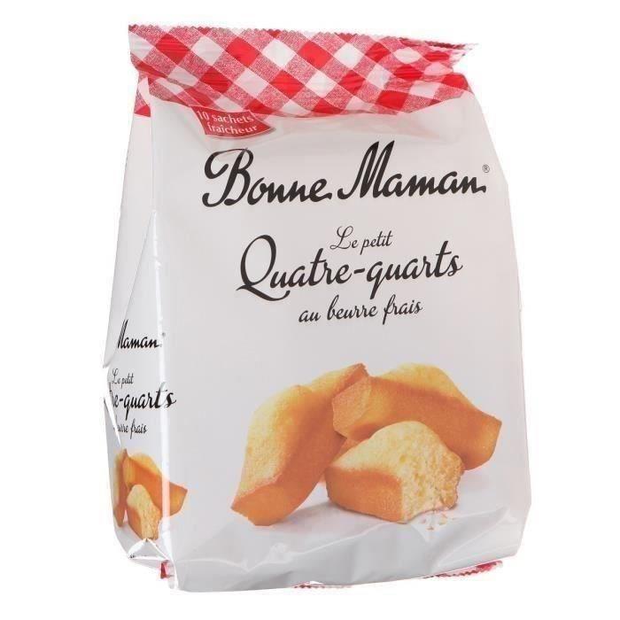 ST MICHEL BISCUITS Petit quatre-quarts au beurre BONNE MAMAN - 300 g