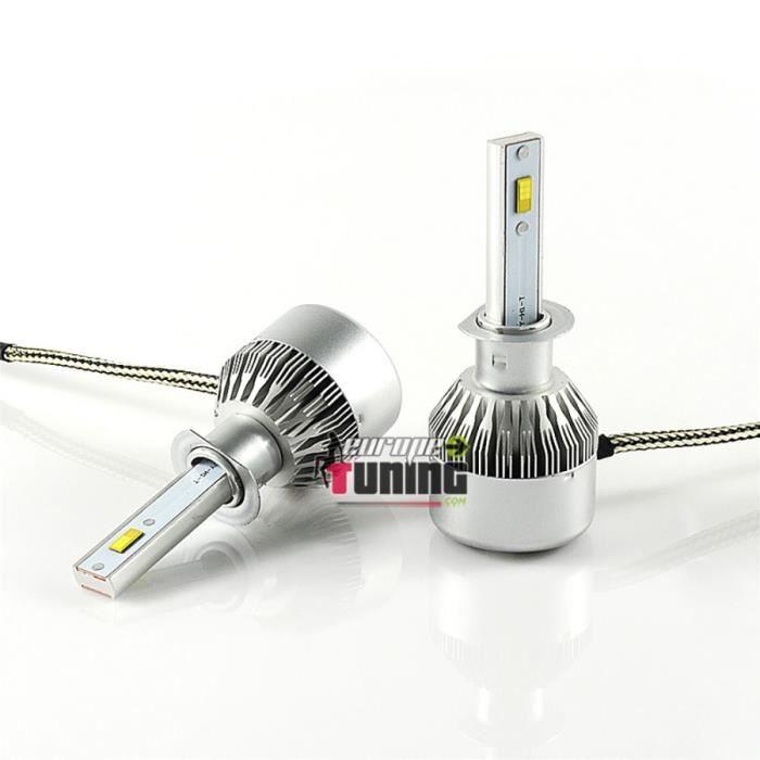 2 AMPOULES LEDS H1 36W 6000K 3800LM HOMOLOGUEES (04202)