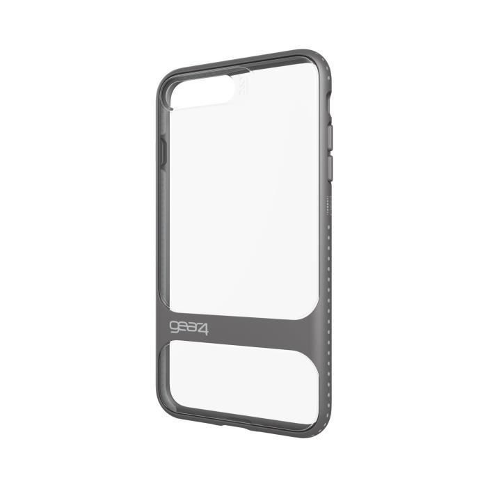 GEAR4 D3O Soho Coque - iPhone 7 Plus - Argent