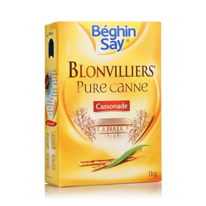 Sucre blonvillier en Poudre 1 kg Béghin Say
