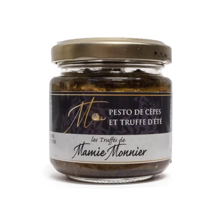 Pesto de cépes et de truffes d'été (pot de 80 gr)