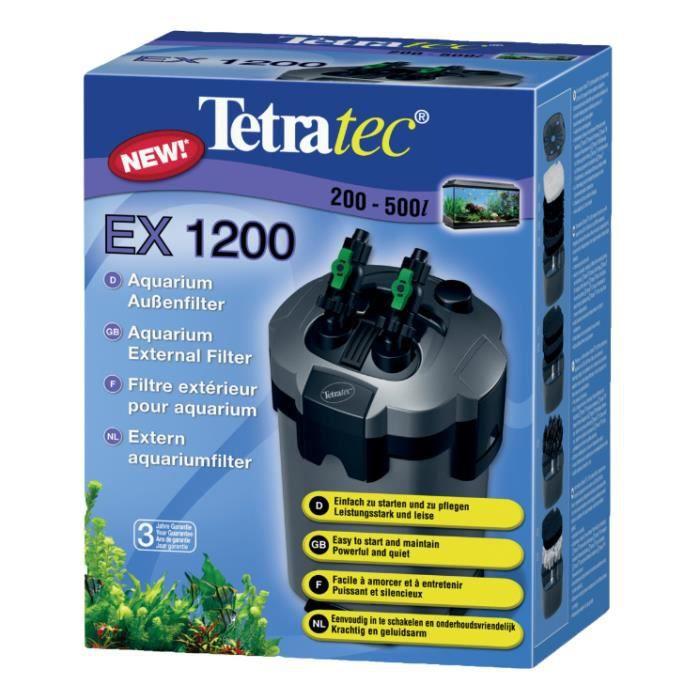 TETRA Filtre Extérieur Ex 1200 Plus - Pour aquarium