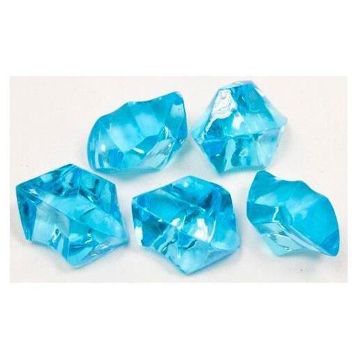 Pierre: Cristal bleu turquoise (x100g) REF/DEC403