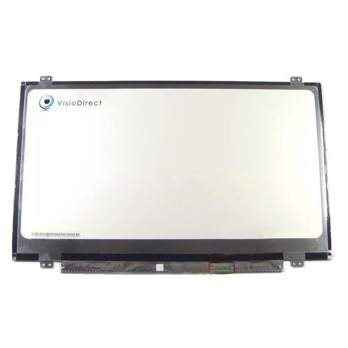 Dalle ecran 14- LED pour HP COMPAQ Envy 14-J115TX 1920x1080 30pin ordinateur portable