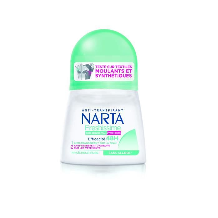 NARTA Déodorant Freshissime Fraicheur Pure Bille - 50 ml