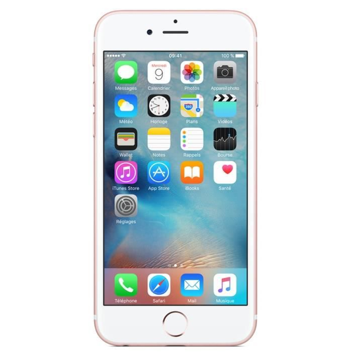 apple iphone 6s 16 go or rose reconditionn remade in france achat smartphone recond pas. Black Bedroom Furniture Sets. Home Design Ideas