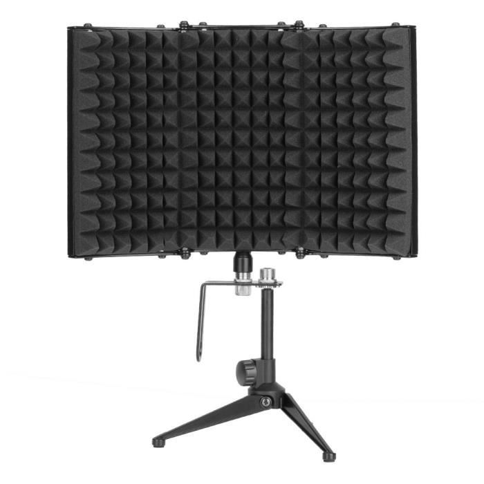 Bouclier Isolation Pliable Mic Avec Support -tam