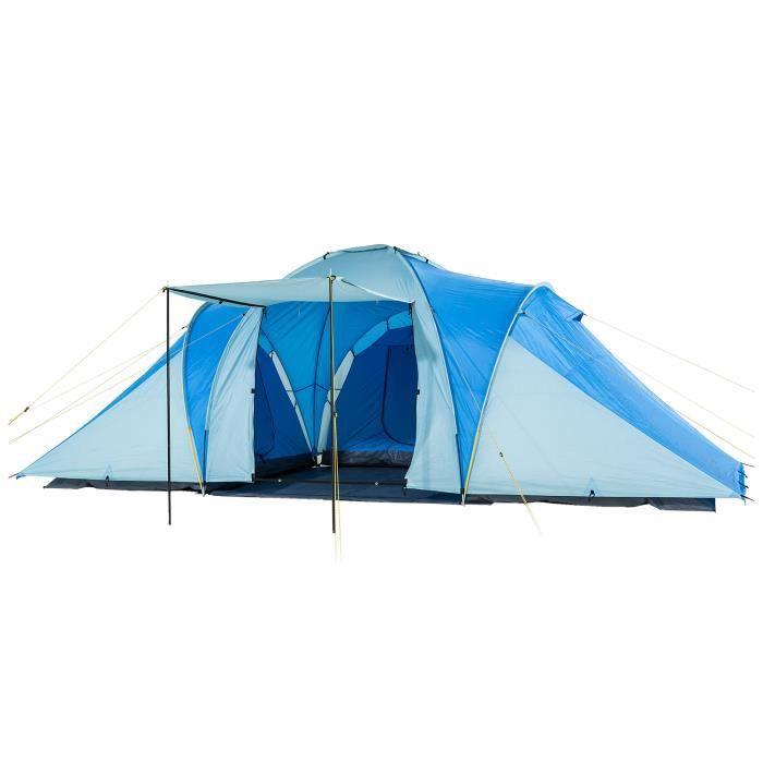 TENTE DE CAMPING SKANDIKA Tente de camping familiale DAYTONA XXL -