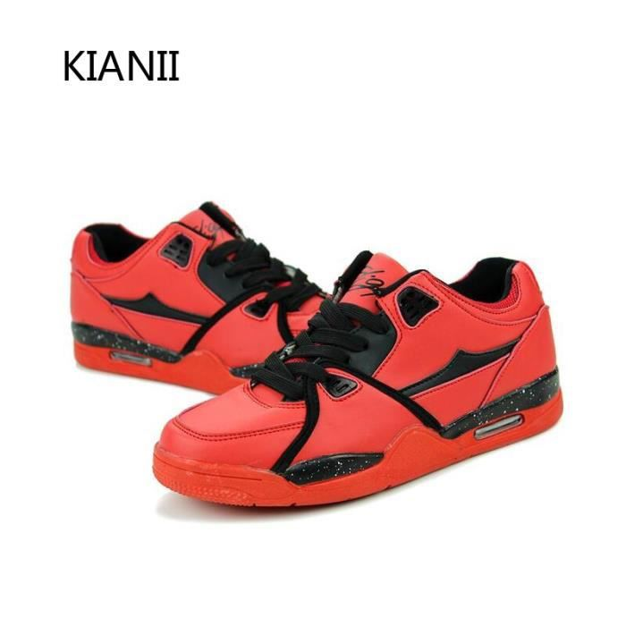 Hommes Baskets Loisirs Chaussures de course Rouge kOlzUMgTnW
