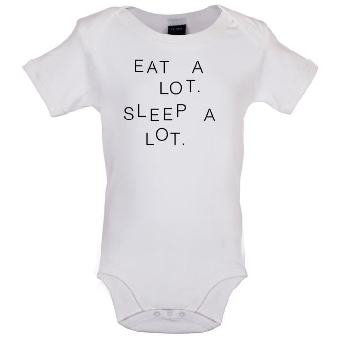 BODY Dressdown - Eat A Lot Sleep A Lot - Marrant Bébé-B