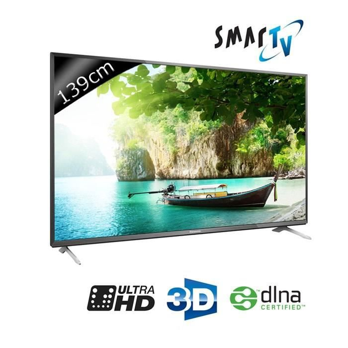 panasonic tv tx 55cx700e uhd 4k 139cm 55 pouces led smart tv 3d wifi dlna 3 hdmi. Black Bedroom Furniture Sets. Home Design Ideas