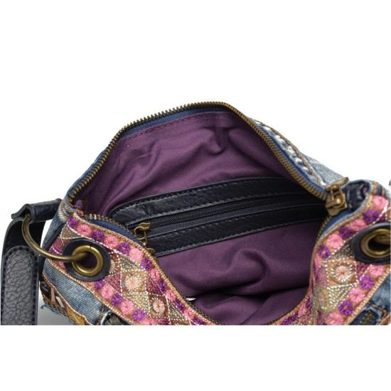 Vente Cdiscount Désigual Brooklin Sac Achat Exoti Jeans Exotic FaX0xOq