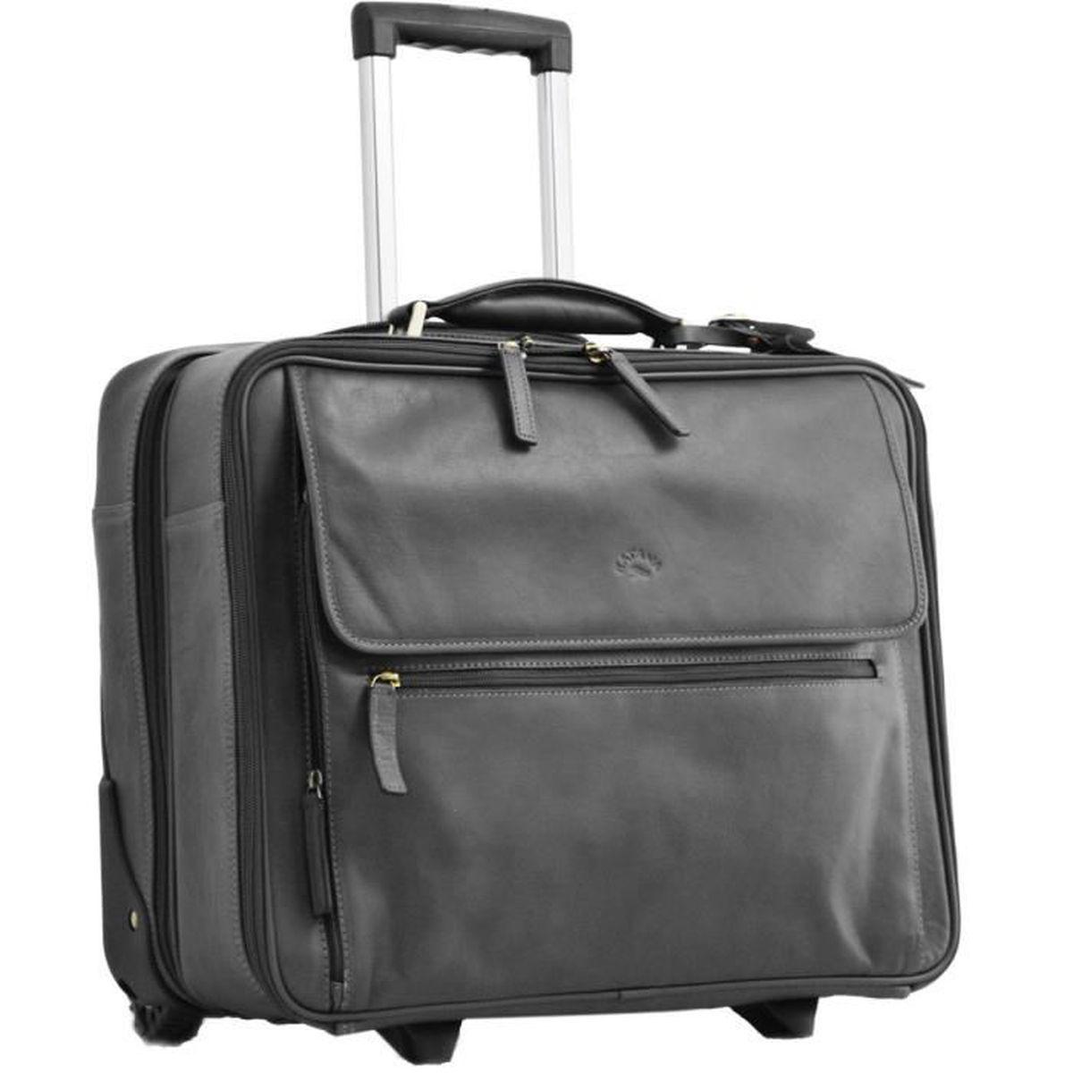 Il Bagage 2 roue Business Cabin CASE BUSINESS Cabin CASE fonctionnelle est noir
