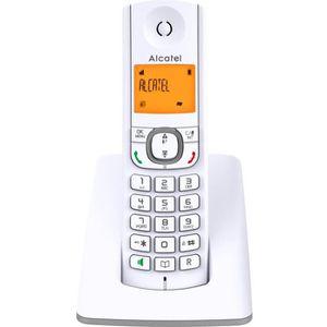 Téléphone fixe Alcatel F530 Solo Téléphone Sans Fil Sans Répondeu