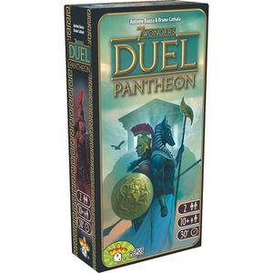JEU SOCIÉTÉ - PLATEAU 7 WONDERS -  Duel - Extension Pantheon