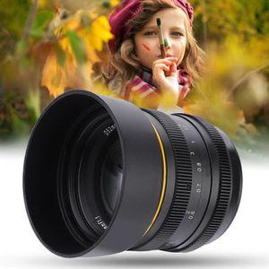 OBJECTIF Kamlan 50mm f 1.1 APS-C grande ouverture lentille