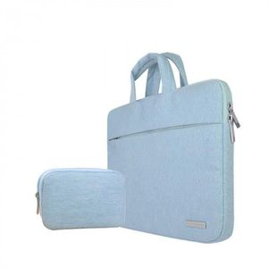 SACOCHE INFORMATIQUE Version Bleu avec Petit bag - 12 inch -