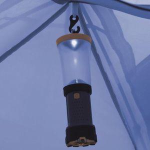TENTE DE CAMPING Tentes Couleur : Bleu Materiau du double toit : po