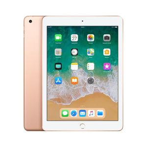 TABLETTE TACTILE Tablette tactile APPLE - iPad 2018 Or - 32 Go - Wi
