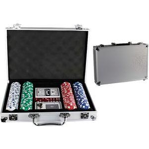 MALETTE POKER Valise de Poker Aluminium 200 jetons