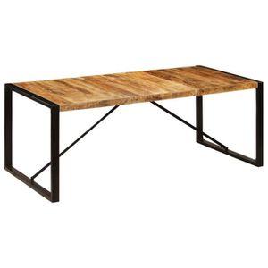 TABLE À MANGER SEULE 247411 Table de salle à manger 200x100x75 cm Bois