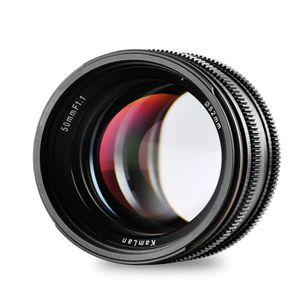 OBJECTIF Objectif Kamlan 50 mm / F1.1 APS-C à focale fixe e