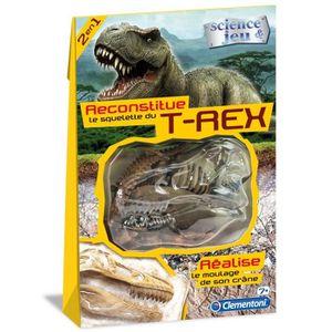 EXPÉRIENCE SCIENTIFIQUE CLEMENTONI Fossile dinosaures T-Rex