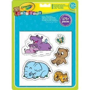 GOMMETTE Crayola - Mini Kids - Gommettes animaux  - Coloria