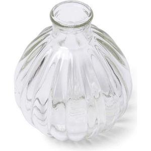 VASE - SOLIFLORE Mini vase en verre rétro 10 cm