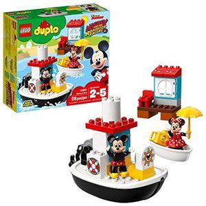 ASSEMBLAGE CONSTRUCTION Jeu D'Assemblage LEGO RC2YA DUPLO Mickeys Bateau 1