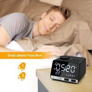Radio réveil Radio Réveil,Affichage Thermomètre, Haut-Parleur B