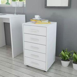 CAISSON DE BUREAU  Luxueux Magnifique- Caisson à tiroir de bureau ave