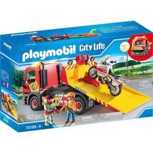 UNIVERS MINIATURE PLAYMOBIL 70199 - City Life - Camion de dépannage