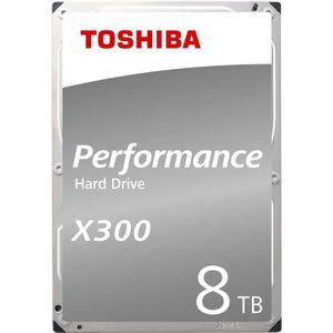DISQUE DUR INTERNE TOSHIBA - Disque dur Interne - X300 - 8To - 7 200