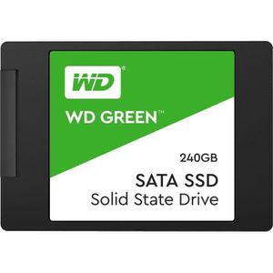 DISQUE DUR INTERNE Western Digital SSD interne WD Green 240 Go - SATA