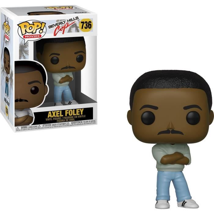Figurine Funko Pop! Movies: Beverly Hills Cop - Axel