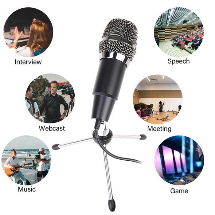 Microphone à condensateur de studio professionnel ÉCLAIRAGE DE STUDIO PHOTO 102