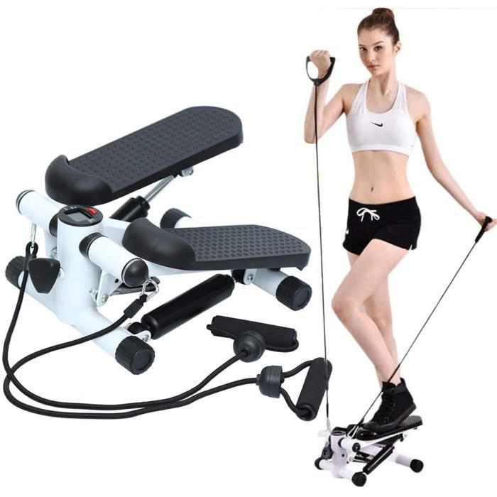 Paneltech Aerobic Fitness Stepper Swing Stepper Mini Stepper Stepper Machine Jambes Bras Cuisse Toner Toning Machine Fitness Steps