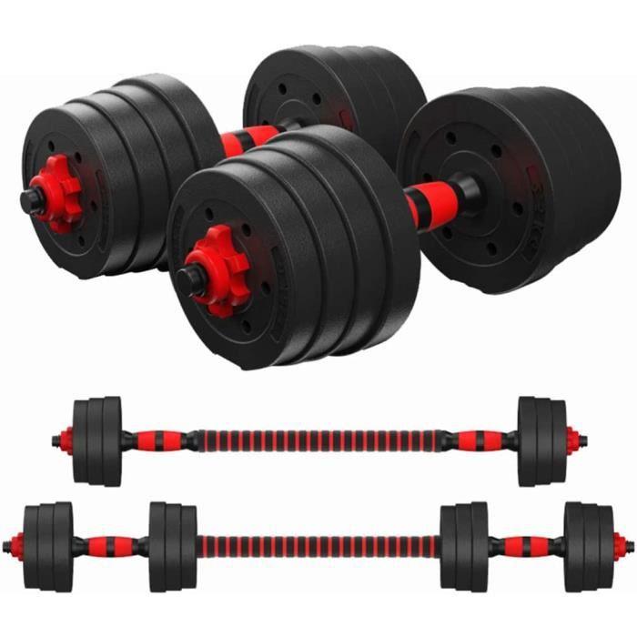 haltère réglable kit 30kg les haltères musculation , Haltère domestique